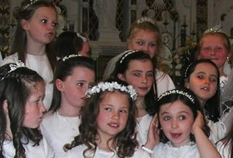 first holy communion sacred heart Roscommon