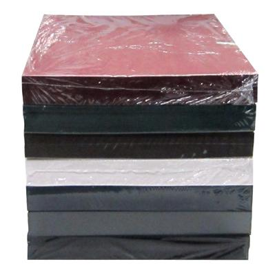 Classic Linen Bindercovers Textured Paper Binding Covers - presentation cover with window