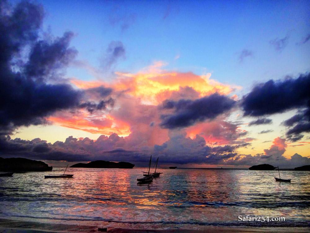 Watamu beach_first sunrise