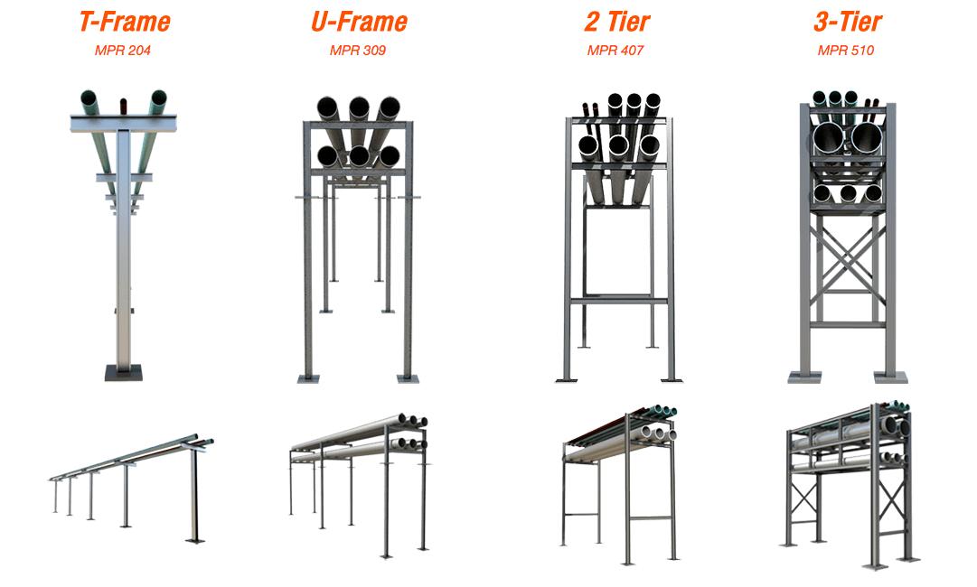 ladder rack data center
