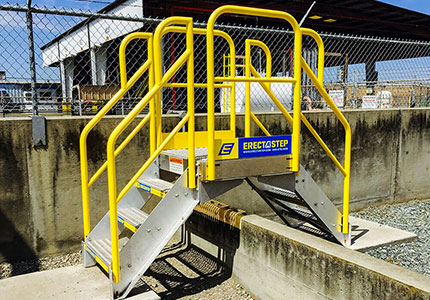 Saferack Loading Platforms Industrial Safety Terminal