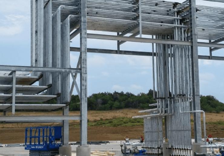 Erectarack Pre Engineered Modular Industrial Pipe Rack System