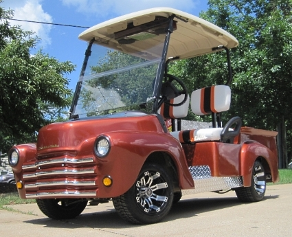47\u0027 Old Truck Custom Club Car Precedent Gas Golf Cart