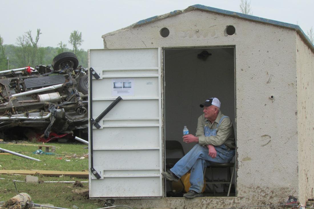 Concrete Storm Shelter Safe Sheds Inc