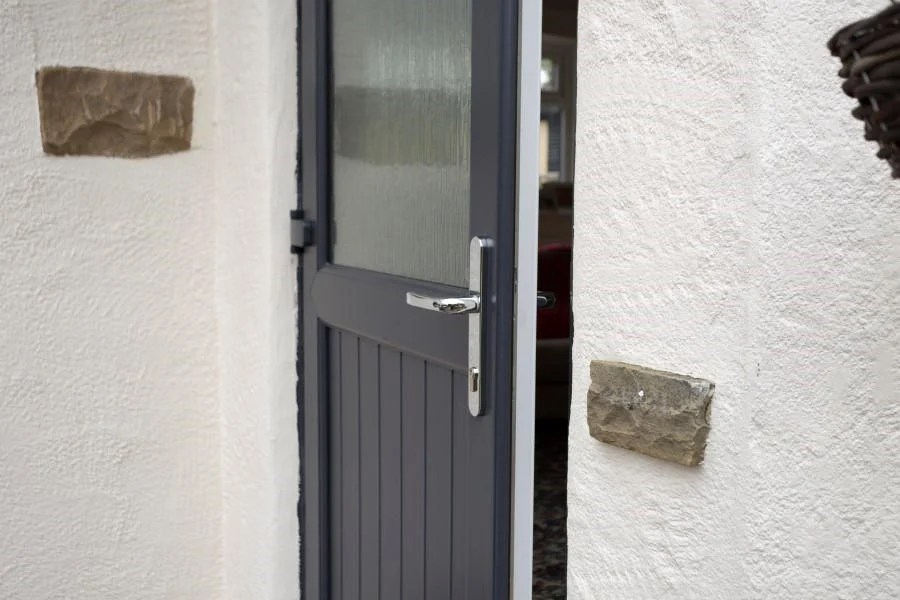 Upvc Half Glazed Exterior Doors Safestyle Uk