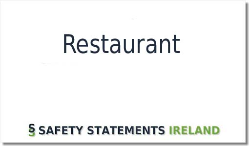 Perfect Safety Statement template for a Restaurant Download NOW!
