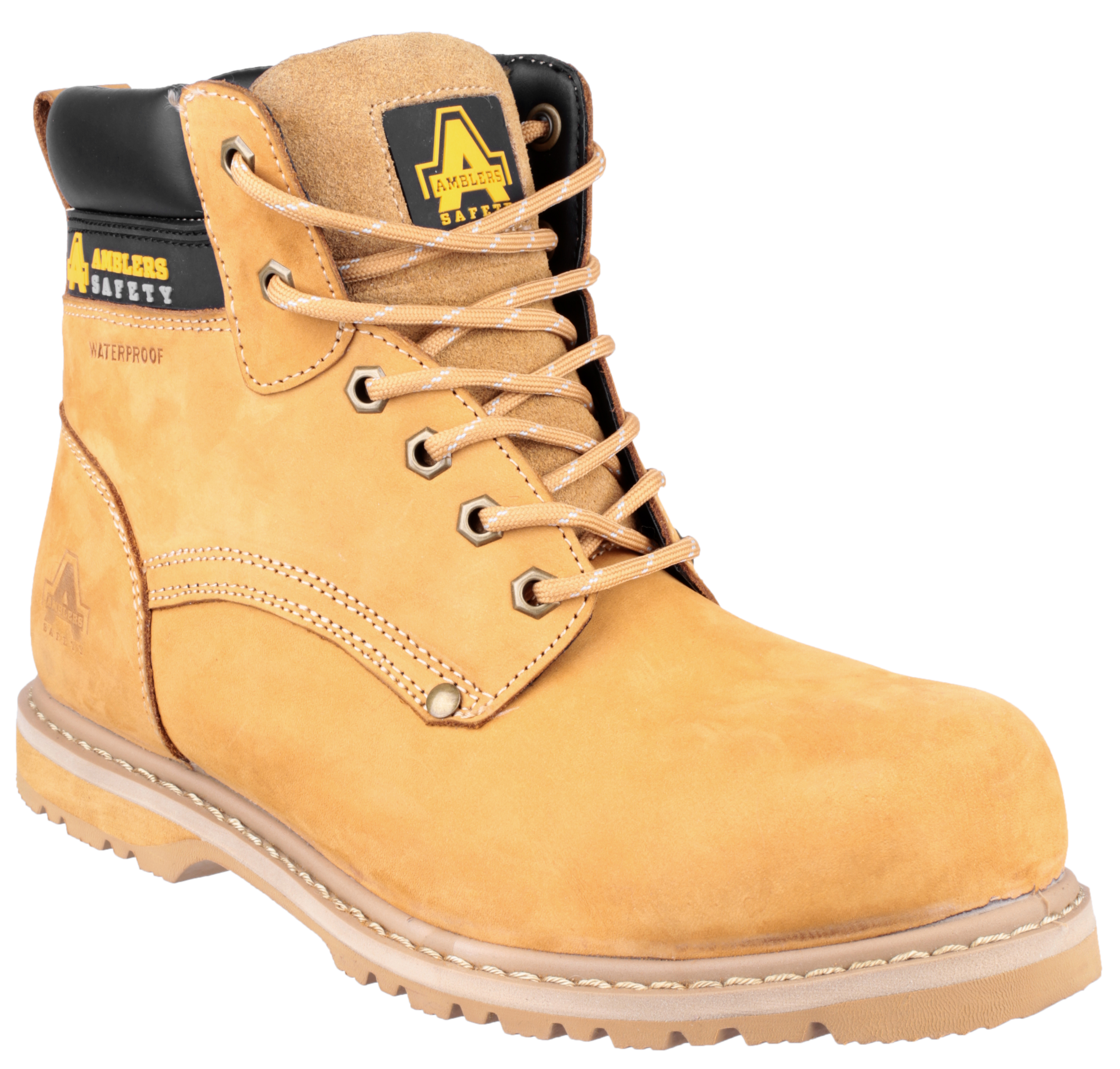 Amblers Safety Boots Fs147 Honey Safety Boots R Us
