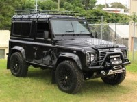 Land Rover Defender 90 Station Wagon Roof Rack Gutter ...
