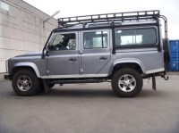Land Rover Defender 110 Station Wagon Roof Rack Roll Cage ...