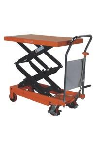 Double Vertical Scissor Lift Hydraulic Platform Table ...