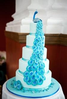 ideas for a peacock themed wedding