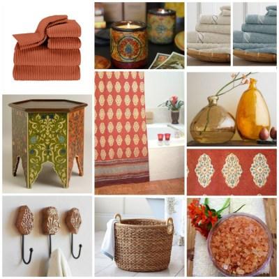 Spice Route Bath Collage