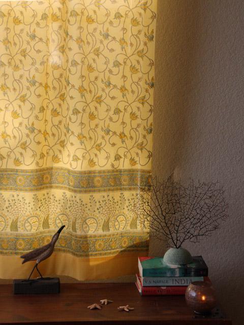 Beaded Shower Curtain Panels