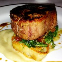 This fillet will melt in your mouth - one of the best in town.