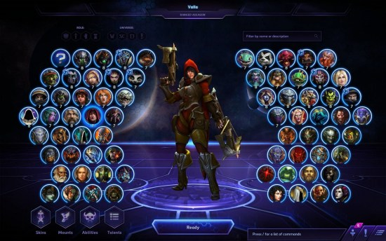 Characters of the Heroes of the Storm
