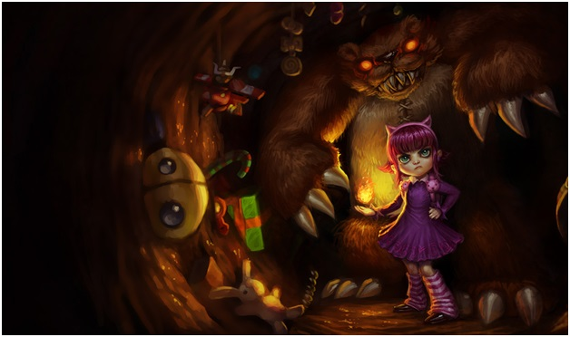annie of league of legends