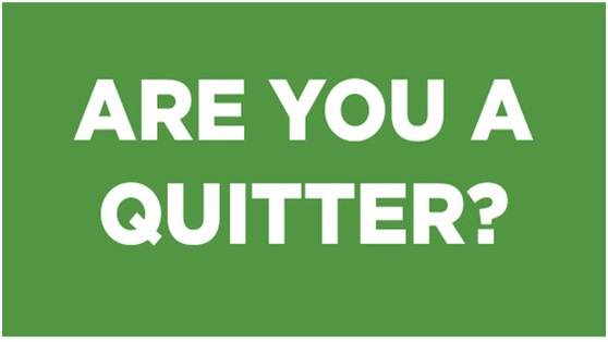 playing with a quitter