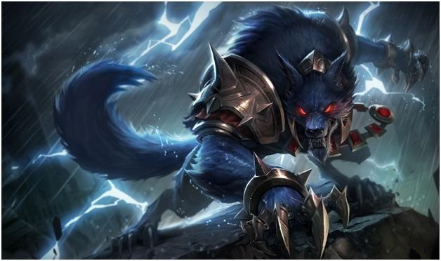 Warwick of league of legends