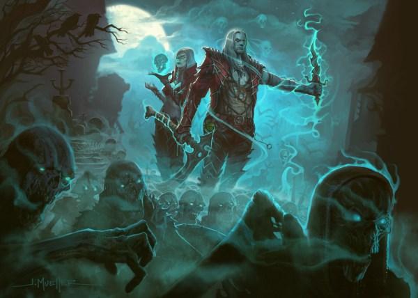 The necromancer is back in Diablo 3