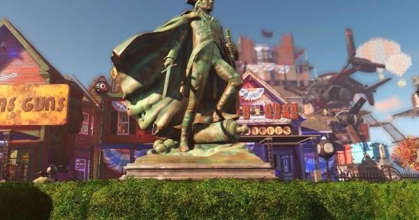 BioShock Infinite Columbia-themed settlement mod By GPGShepard