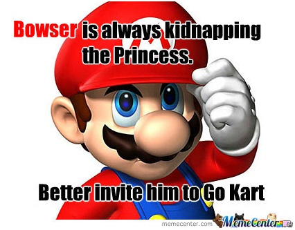 Mario, the ever good guy