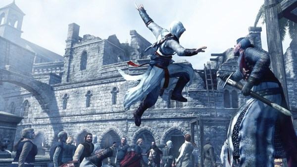 Assassin's Creed Enzio jumping in for the kill