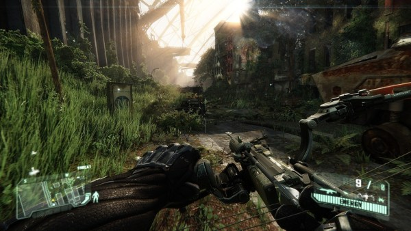Crysis 3 gameplay screenshot