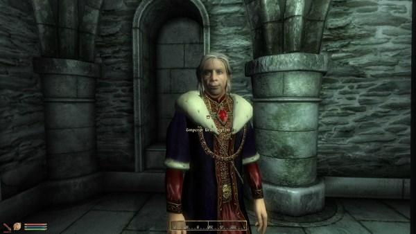 Uriel Septim in the Elder Scrolls IV