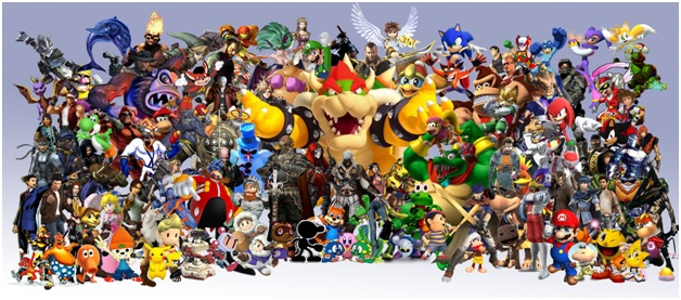 stereotype video game characters