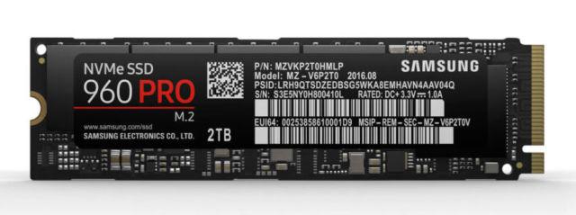 Samsung presenta la nuova generazione di SSD PCIe: il 960 PRO e il 960 Evo