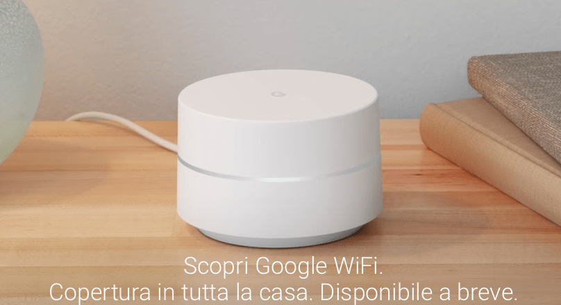 Google presenta WiFi, router intelligente e modulabile