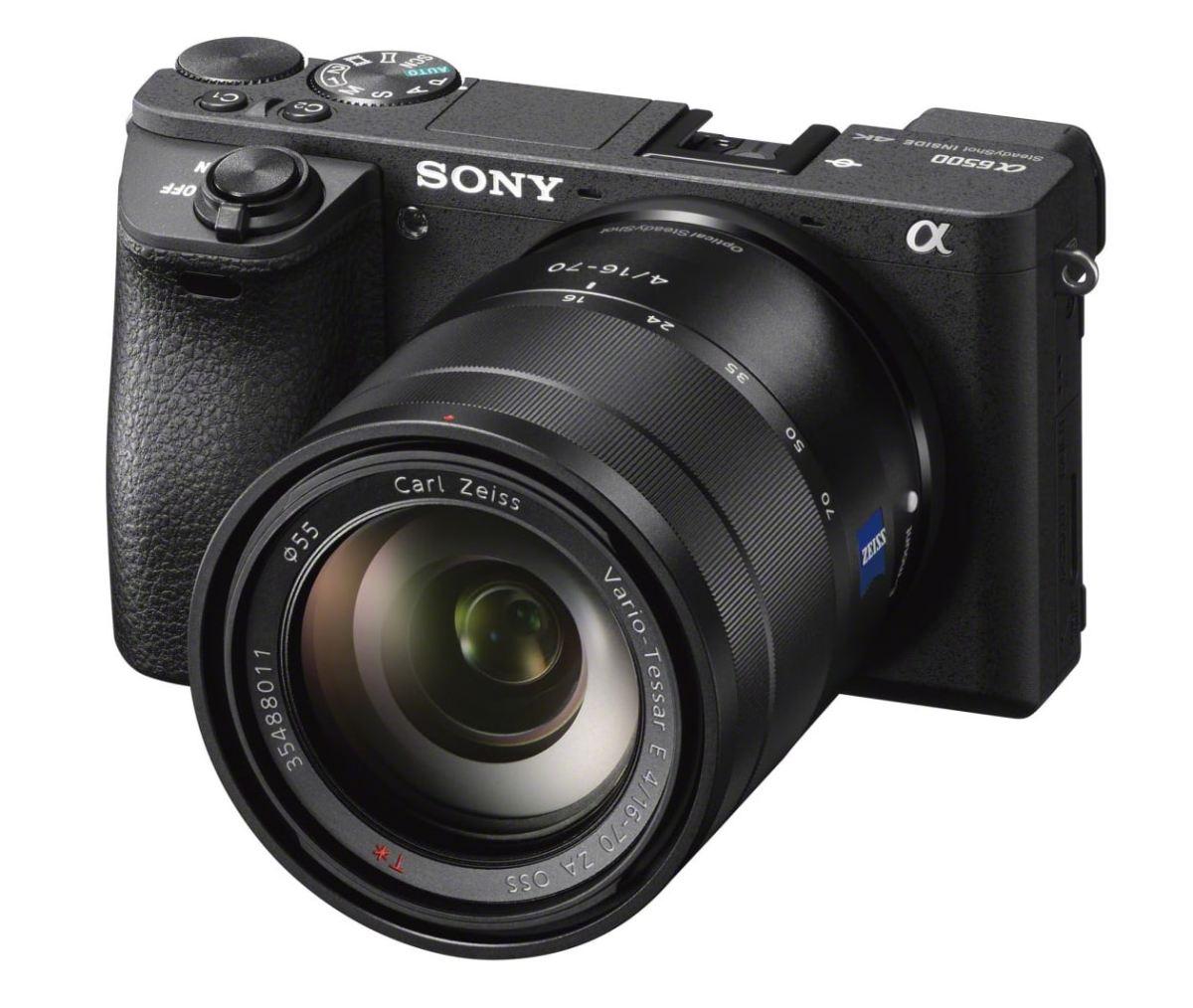 Sony presenta A6500 e RX100 Mark V