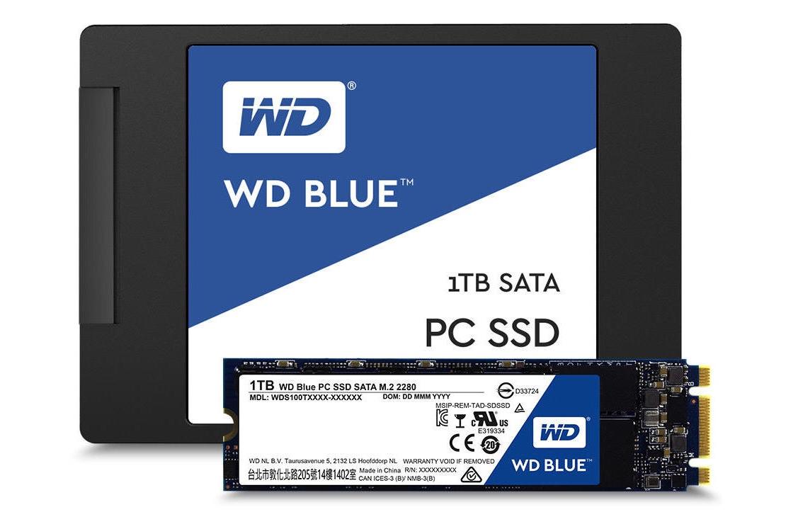 Western Digital lancia la nuova linea di SSD, frutto dell'acquisizione di SanDisk