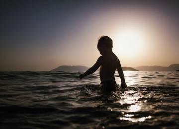 enfant-plage