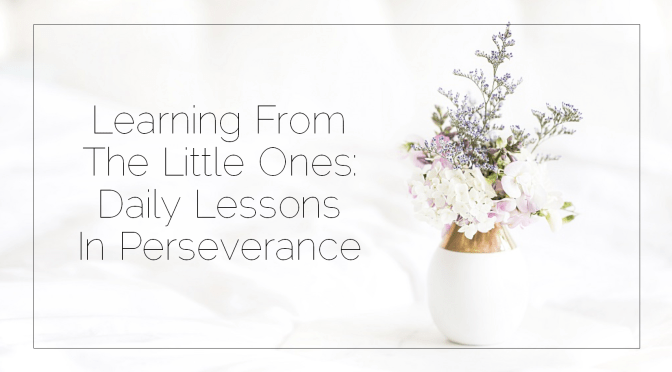 Sahar's Blog 2017 03 07 Learning From The Little Ones Daily Lessons In Perseverance