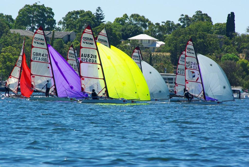 Skiff World Championships Snakes And Ladders On Day 3