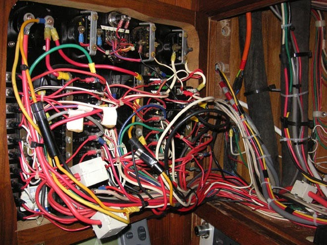 Wiring Diagram - Don\u0027t leave port without it!