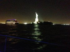 Circle Line Cruise with Statue of Libery.
