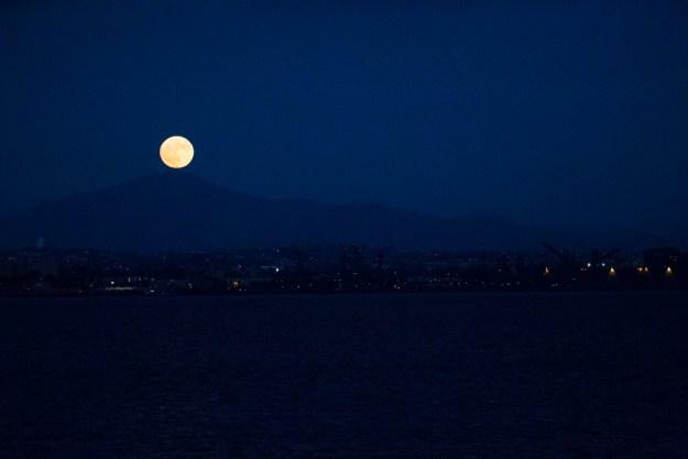 Moon Rise at Glorietta Bay