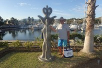 Sculpture Garden Walk around the Marina