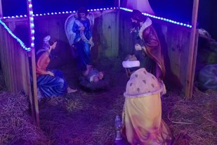 Christmas Eve, the Baby Jesus has arrived