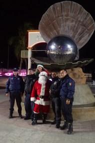Police & Santa