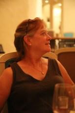 Patrice (on Sonamara) out to Italian dinner