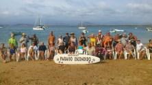 Gathering at Paraiso Escondido, Isla Grande