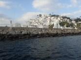 Anchored with a view of Las Hadas Condos