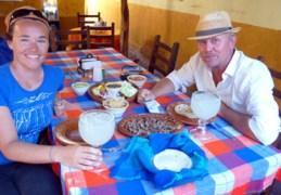 Včeraj sva se še zadnjič najedla mehiške hrane