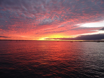 La Paz always has amazing sunsets