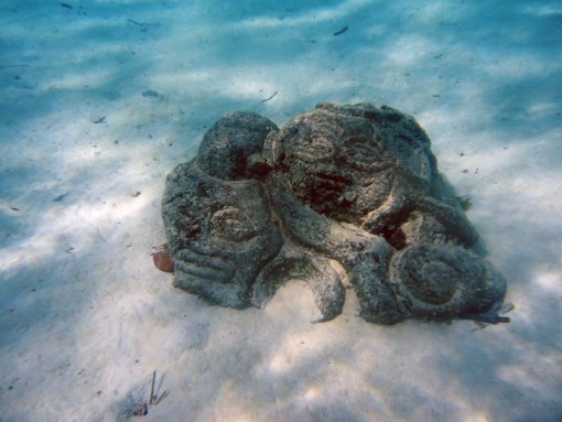 Underwater Tikis Moorea
