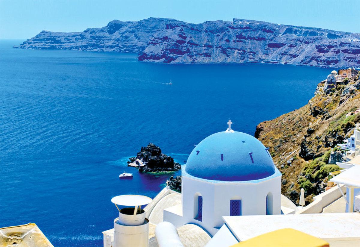 Hd Santorini Wallpaper Destinations The Aegean Sea Sail Magazine