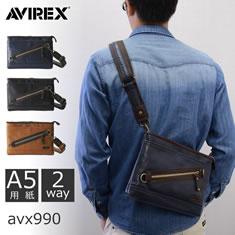 AVIREX ボディバッグ 1型